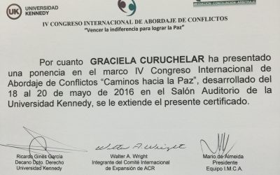 IV Congreso Internacional de Abordaje de Conflictos