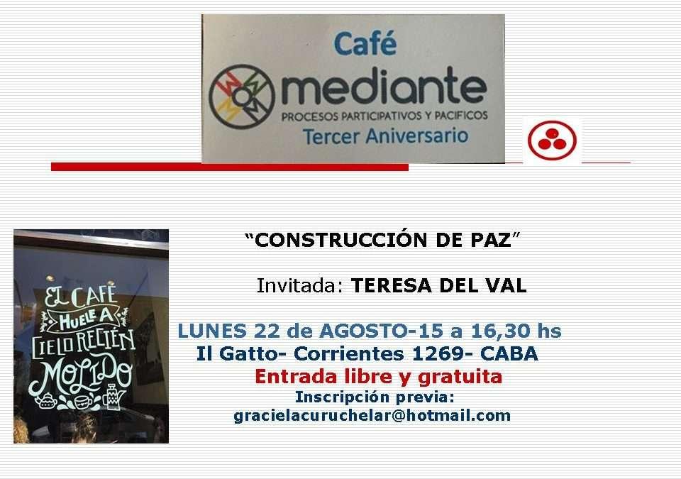 Cafe Mediante- Tercer Aniversario
