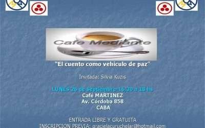 Cafe Mediante- El cuento como vehículo de Paz