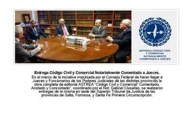 Código Civil y Comercial Notarialmente Comentado