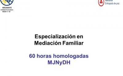 Especialización en Mediación Familiar