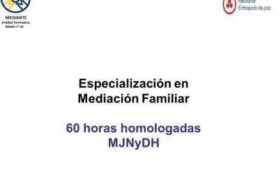 Especialización en Mediación Familiar