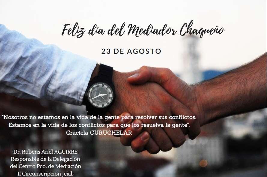 Dia del Mediador Chaqueño!