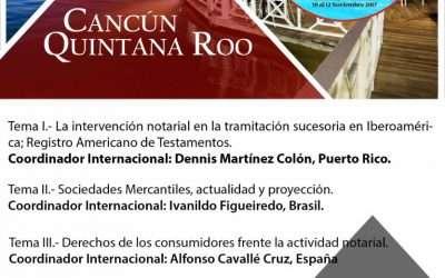 Argentina en el Foro de Mediación en las XVII Jornadas Notariales Iberoamericanas y UINL