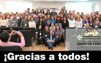 Colegio de Farmacéuticos de la Provincia de Buenos Aires- VI Jornada de Capacitación
