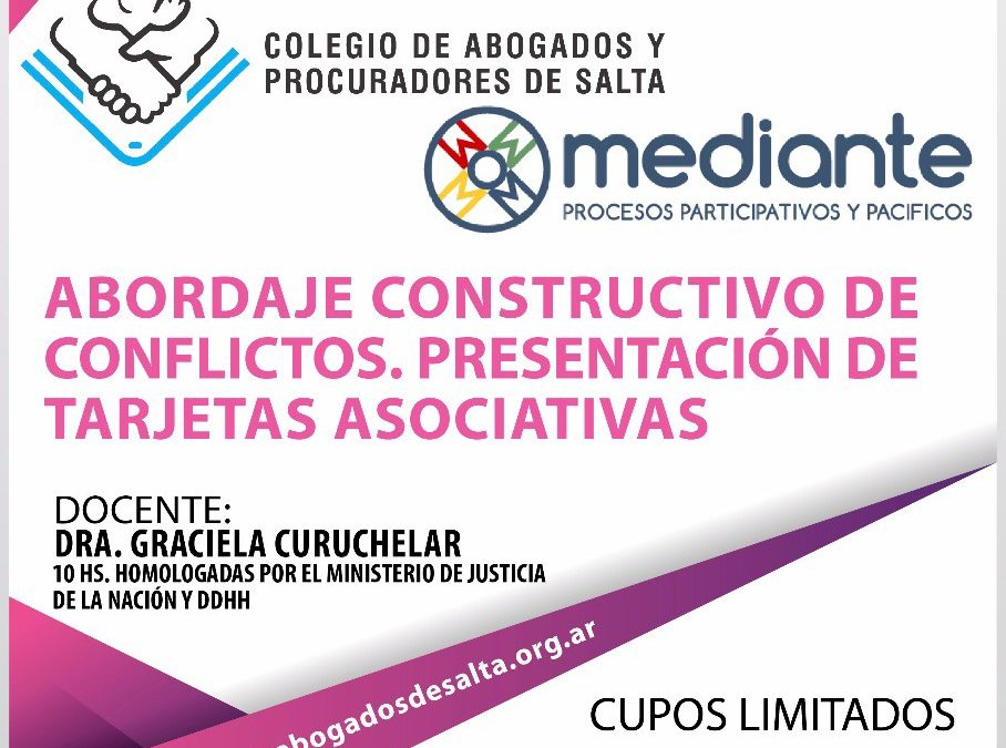 Abordaje Constructivo de Conflictos en Salta!