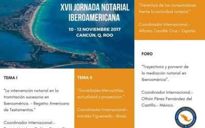 XVII Jornadas Iberoamericanas Notariales- Foro de Mediación