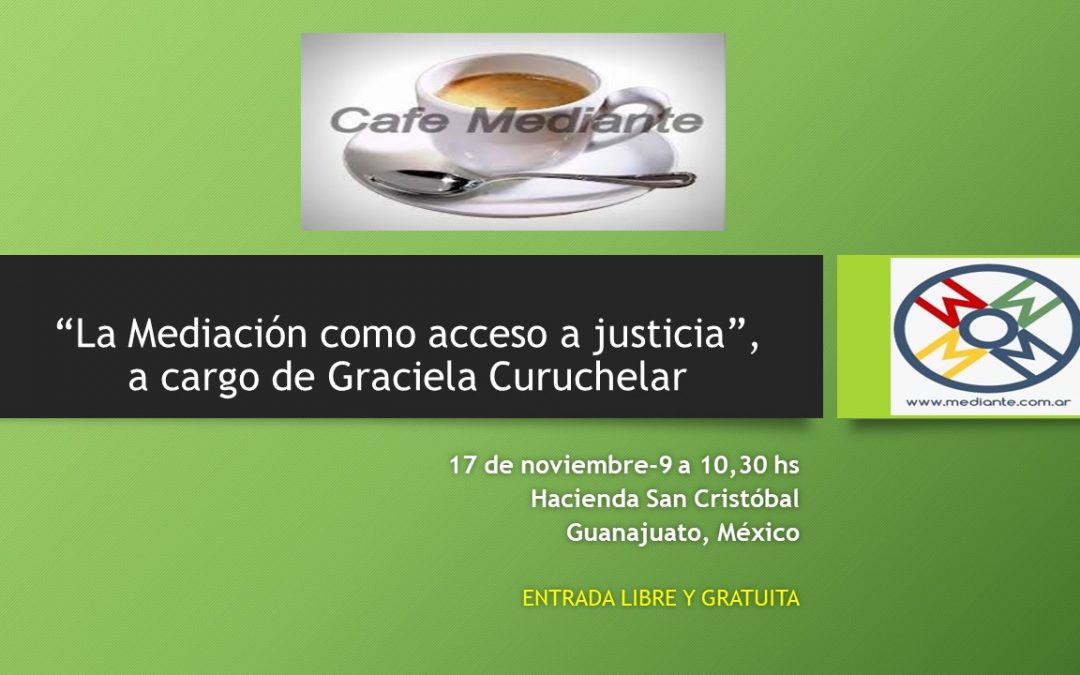 Cafe Mediante en Guanajuato, México