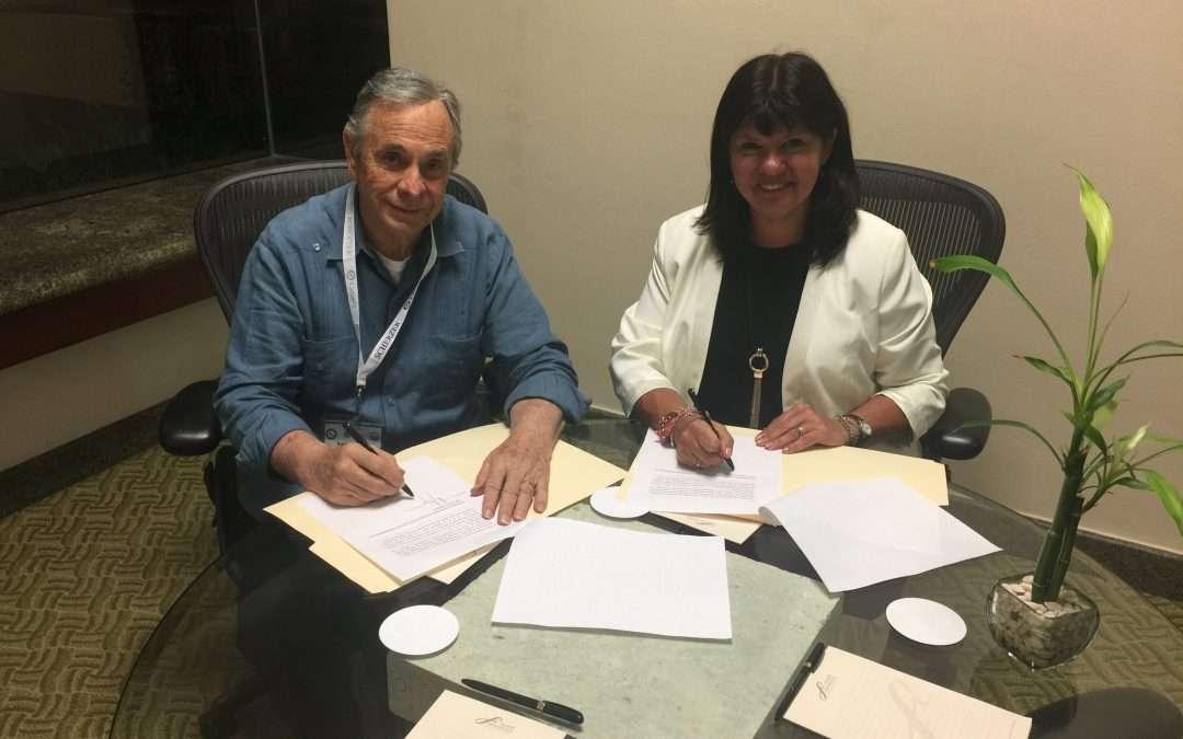 Convenio de colaboración entre Colegio Nacional de Mediadores de Mexico y Mediante