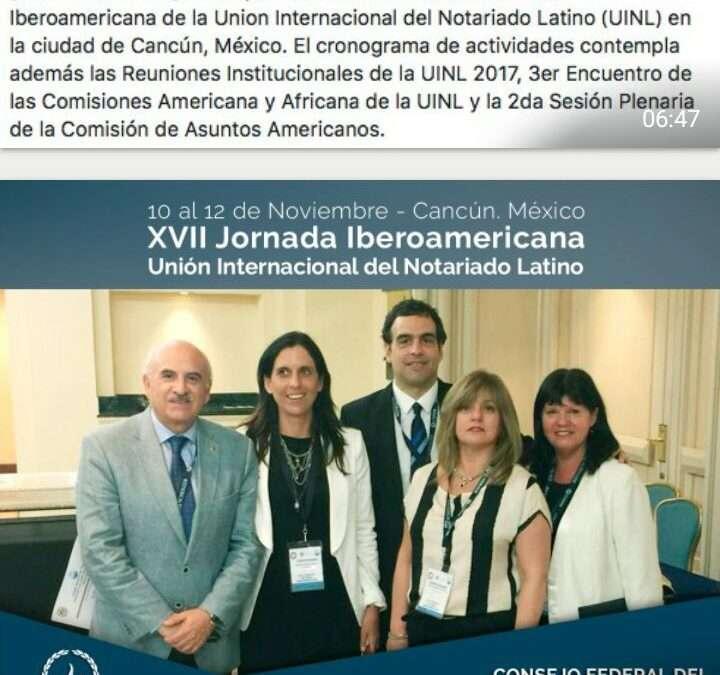 XVII Jornada Notarial Iberoamericana en México