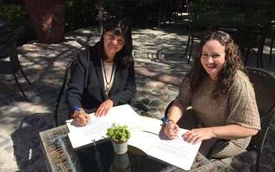 Convenio de colaboración entre Espacio Mediacion de Mexico y Mediante