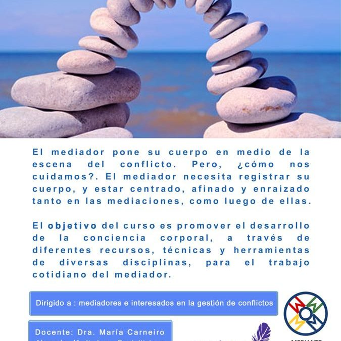 """Taller """"La conciencia corporal de los mediadores"""", a cargo de Maria Carneiro"""