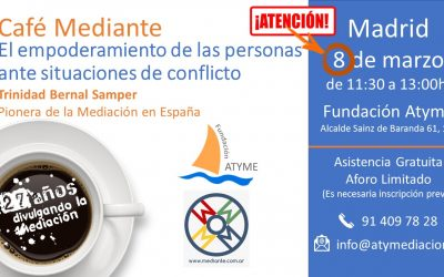 Cafe Mediante en ATYME , Madrid!