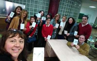 Dos Talleres de Imágenes Asociativas,  Gracias Solucion@ y Universidad de Málaga, España!!