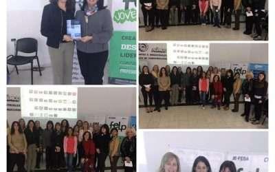 Libros de la FEN entregados a la Federación de Empresarios de La Plata