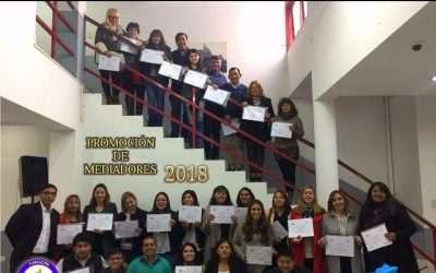 Entrega de certificados a nuevos mediadores en Jujuy