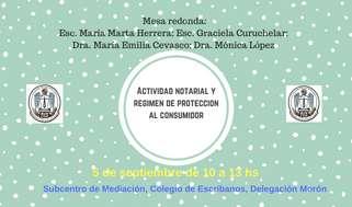 Actividad notarial y Regimen de Protección del Consumidor