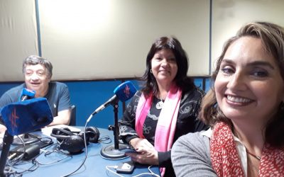 Entrevista radial en Puerto Madryn, Provincia del Chubut, Argentina