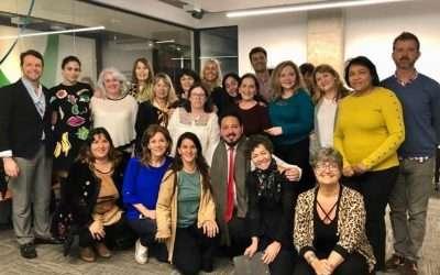 Talleres de lujo en el Pre Congreso con Graciela Frias y Leticia García Villaluenga