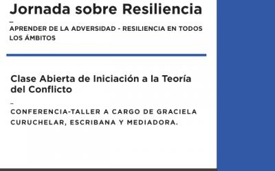 Universidad de San Isidro; Jornada sobre Resiliencia
