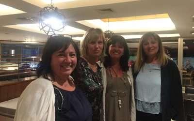 Cafe Mediante con Patricia Klentak,Maria Melluso y Patricia Barcones!