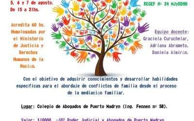 Especialización en Mediación Familiar en Puerto Madryn