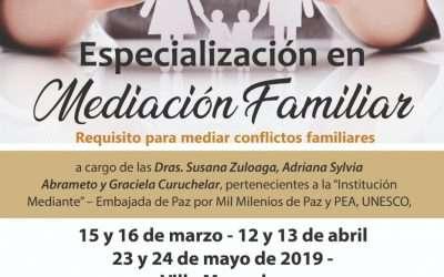 Especialización en Mediación Familiar en San Luis