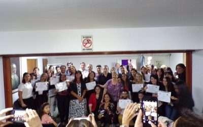 Finalización de cursos homologados por MJN en Tucumán!