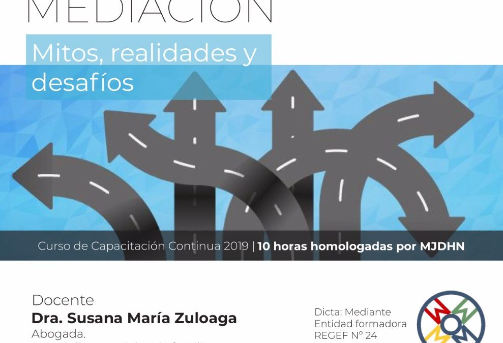 Violencia familiar y mediación, curso en Corrientes