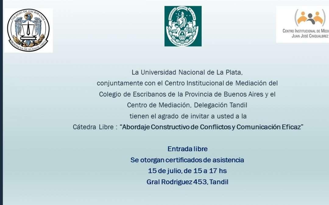 Cátedra Libre de la UNLP en Tandil