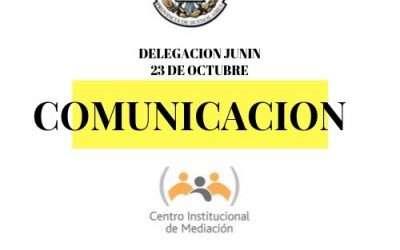 Taller de Comunicación en la Delegación Junin del Colegio de Escribanos de la Provincia de Buenos Aires