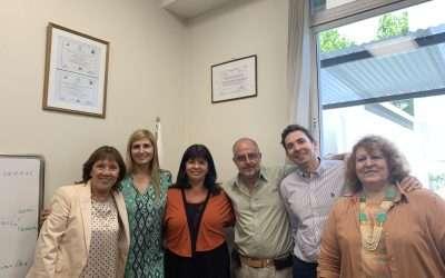 Equipo de gestión y académico del Centro Institucional de Mediación