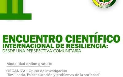Encuentro cientifico Internacional de Resiliencia