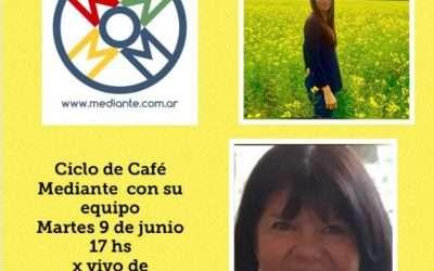 Hoy, Cafe Mediante en Instagram vivo