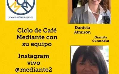 Cafe Mediante en Instagram con Daniela Almiron