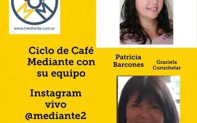 Hoy!! Cafe Mediante en Instagram vivo