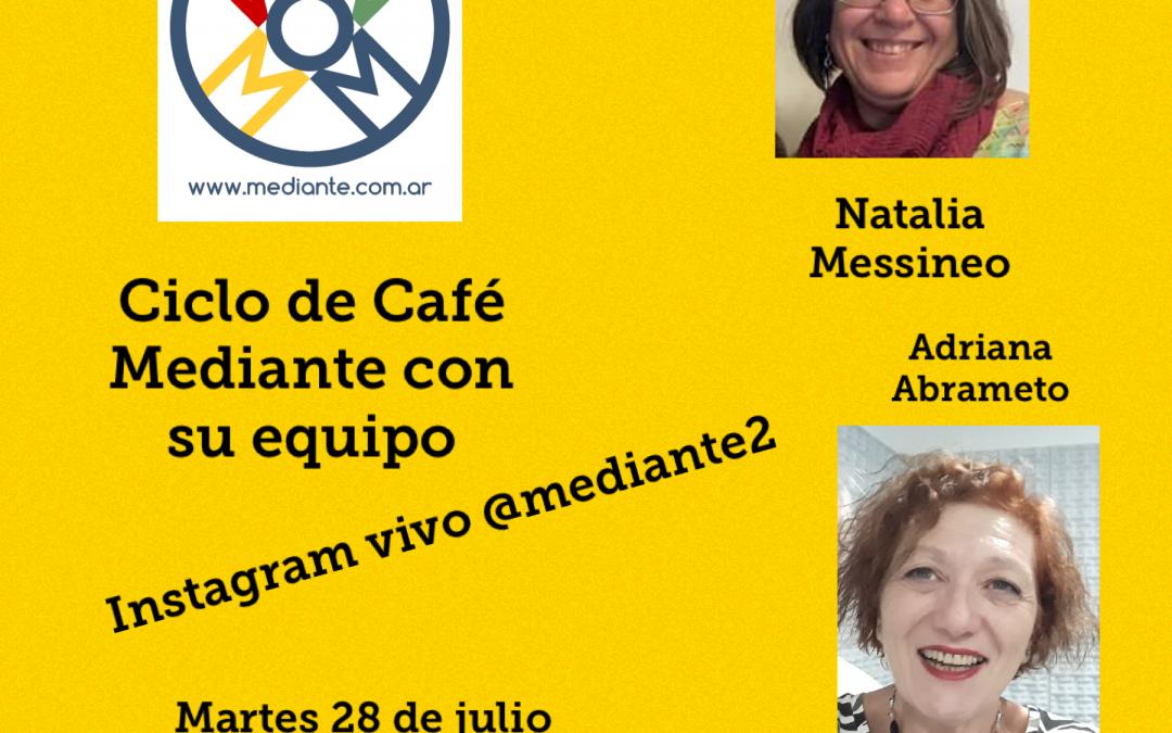 Cafe Mediante en vivo!