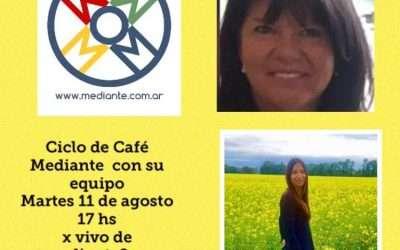 Cafe Mediante en vivo! Fin del ciclo! Imperdible!!Hora argentina!