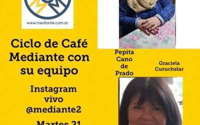 HOY!! Cafe Mediante, vivo en Instagram