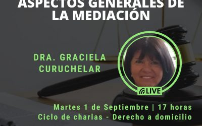 HOY!!!Aspectos generales de la mediación en vivo por instagram @Funpeder
