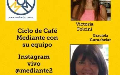 Equipo de Mediante: Victoria Folcini y Graciela Curuchelar