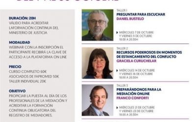FAPROMED, España. Acortando distancia en la práctica de la mediación