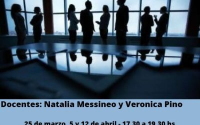 Prácticas mediadoras en empresas familiares, 20 hs homologadas a distancia MJN
