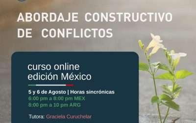 Abordaje constructivo de conflictos, edición Mexico