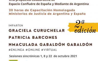 Resiliencia en la Justicia Restaurativa, 2# edición; curso homologado en España y Argentina