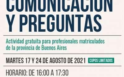 Comunicación y Preguntas, posibilidad de becas!