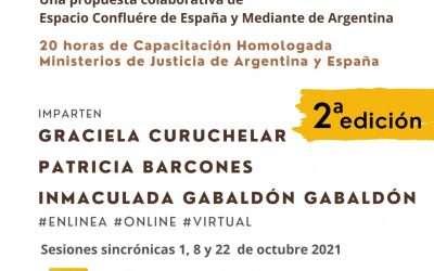 Resiliencia en la Justicia Restaurativa, 20 horas homologadas en Argentina y España!!