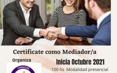 Formación Básica en Mediación comenzamos el 14 de octubre,presencial en Tucuman